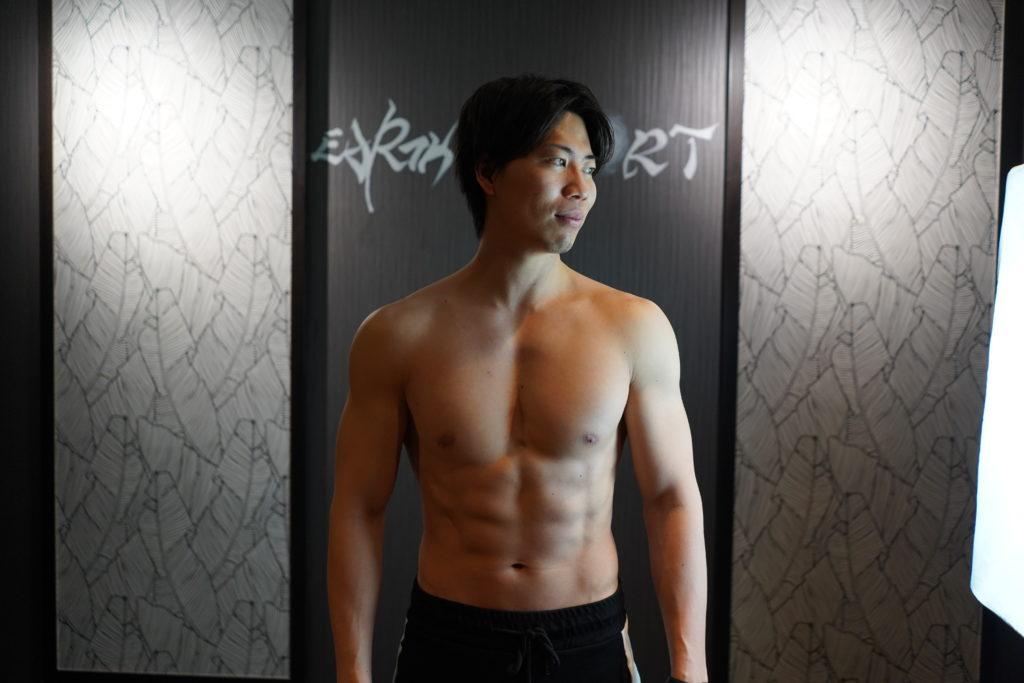 吉野大地くんの筋肉写真
